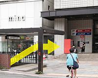 福岡中央郵便局前